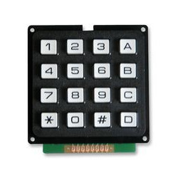 KEYPAD SWITCH 4X4 MCAK1604NBWB
