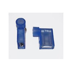 QUICK CONNECTORS RIGHT ANGLE (BLUE) 10PCS FLDNY2