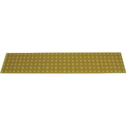 TURRET BOARD, BLANK, 180 HOLES, 300 x 60 x 2MM