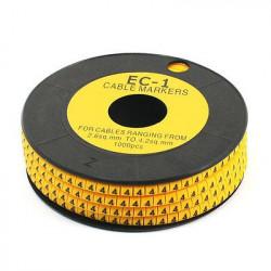 NO. Q CABLE MARKER EC-1 50/PKG