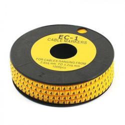 6, CABLE MARKER EC-1 50/PKG