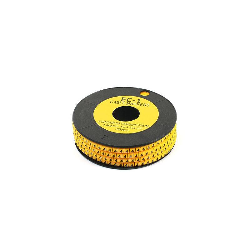 F, CABLE MARKER EC-1 50/PKG