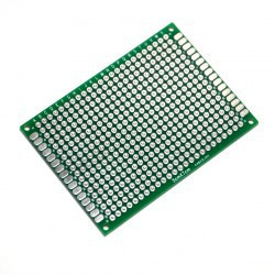 PROTOTYPING PCB, 146x235MM, DOUBLE SIDE, PLATED