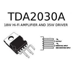 IC TDA2030 AUDIO AMPLIFIER, 18W