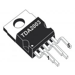 IC TDA2003 POWER AMP AB 12W