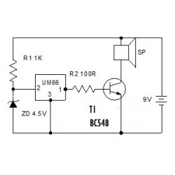 IC VT-66A SONG TRANSISTOR (TELEPHONE SOUND)