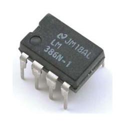 IC LM386 AUDIO AMP.