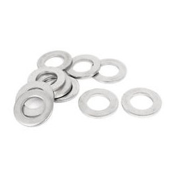 M4 FLAT WASHER 20PCS