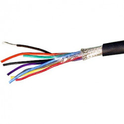 DENKO 8X20X0.18MM DOUBLE SHIELDED CABLE