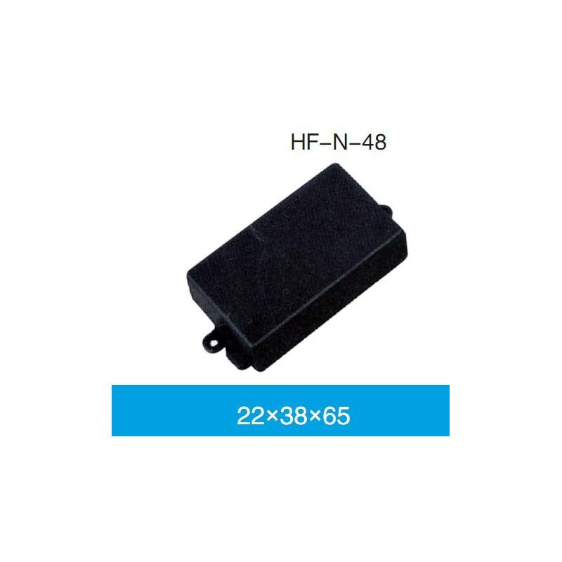 ENCLOSURE, PLASTIC BOX WITH HOLES 60X35X20MM BLACK