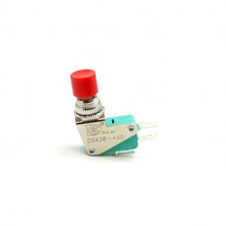 PUSH BUTTON MOMENTARY SWITCH 1NO+1NC RED DS438