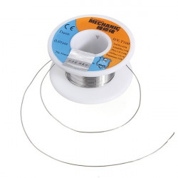 SOLDER, LEADED, ROSIN CORE, 0.4MM, 50G