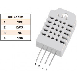 DIGITAL HUMIDITY AND TEMPERATURE SENSOR DHT22