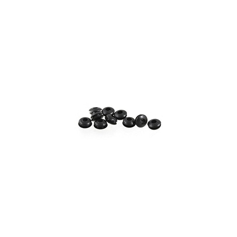 RUBBER GROMMET INNER DIA 3MM 10PCS