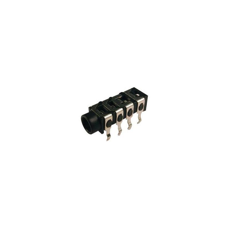 3.5MM 4 POLES PCB JACK