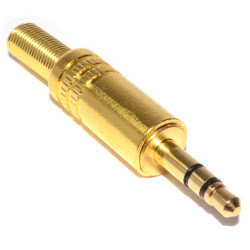 3.5MM STEREO GOLD PLUG JR-1155BG