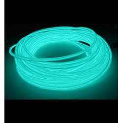 EL WIRE 5MM AQUA