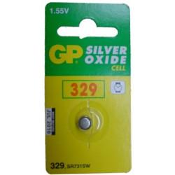 BATTERIES GP-329 1.55V SILVER OXIDE