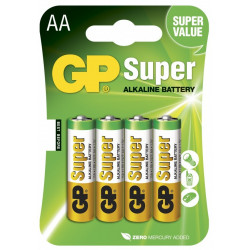 BATTERIES GP-15A-C4 1.5 ALKALINE AA
