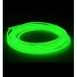 EL WIRE 4MM LIME