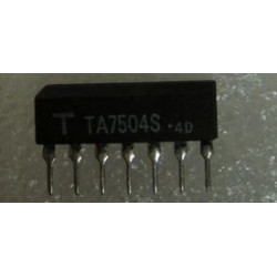 INTEGRATED CIRCUIT TA7504S LINEAR