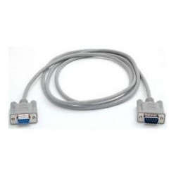 SERIAL DB9 (M/F) 10FT CABLE RS-232 MC-302A