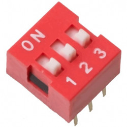 DIP SWITCH 3-POSITION