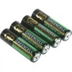 "BATTERIES GP15G-S4 ""AA"" EXTRA HEAVY DUTY 4 pcs"