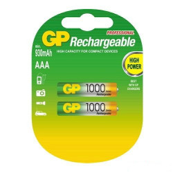 "BATTERIES GP100AAAHC-C2 ""AAA"" 1000"