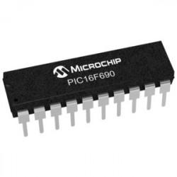 IC PIC16F690-I/P 8 BIT 256 RAM 10ADC