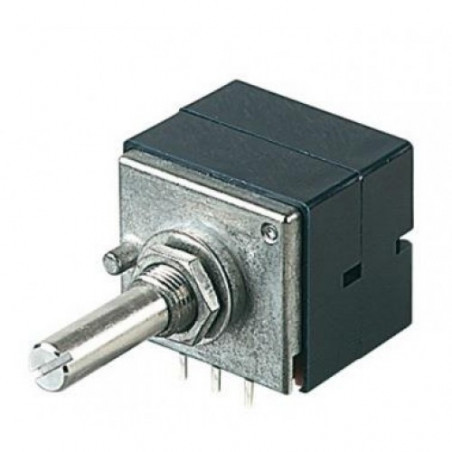 POTENTIOMETER (ALPS) 100KX2(A) 625N