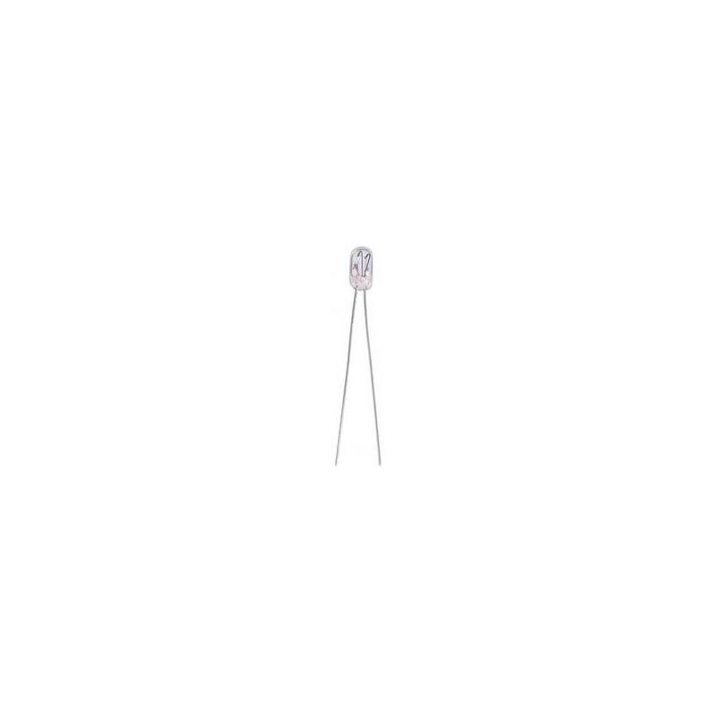 GRAIN OF WHEAT LAMP 6V 0.35A W/WIRE L-8