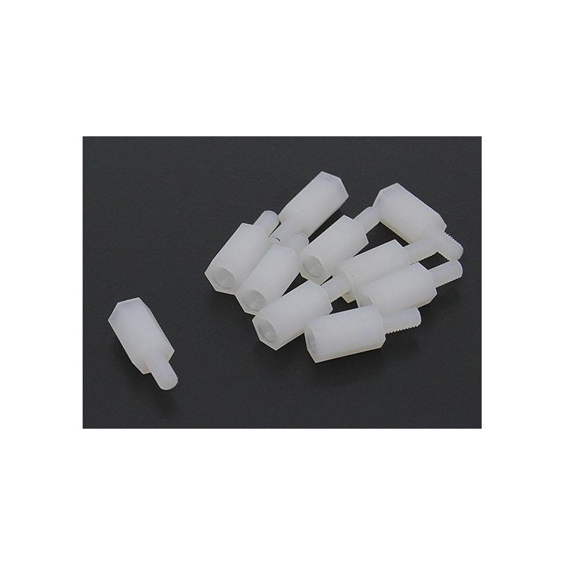 STANDOFF PLASTIC F/M CTP-6MM 10PCS