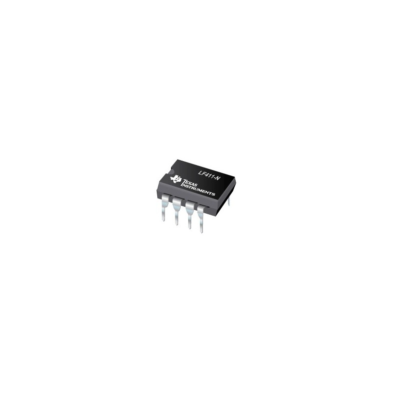 IC LF-411CN LOW DRIFT JFET OP-AMP
