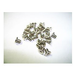 SCREW MAC 1.0X3 FLAT 100PCS