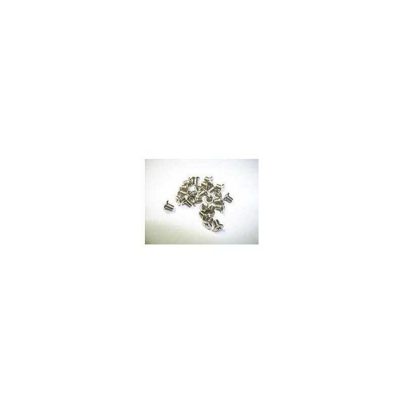SCREW MAC 1.4X4 FLAT 100PCS