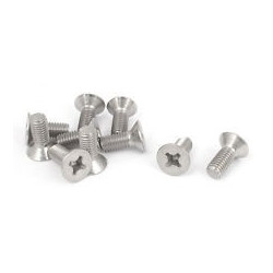 SCREW 2.5X10 FLAT 10PCS