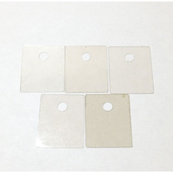 MICA SHEET,TO-218,TO-3PII, 20.0x25.0mm,10PCS/PKG
