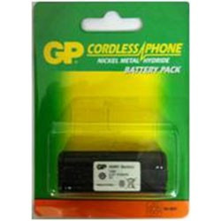 BATTERY,CORDLESS PHONE,HARDCASE,2.4V,910mAH