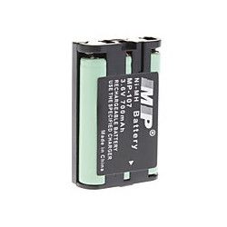 BATTERY,CORDLESS PHONE,HARDCASE,3.6V,850mAH