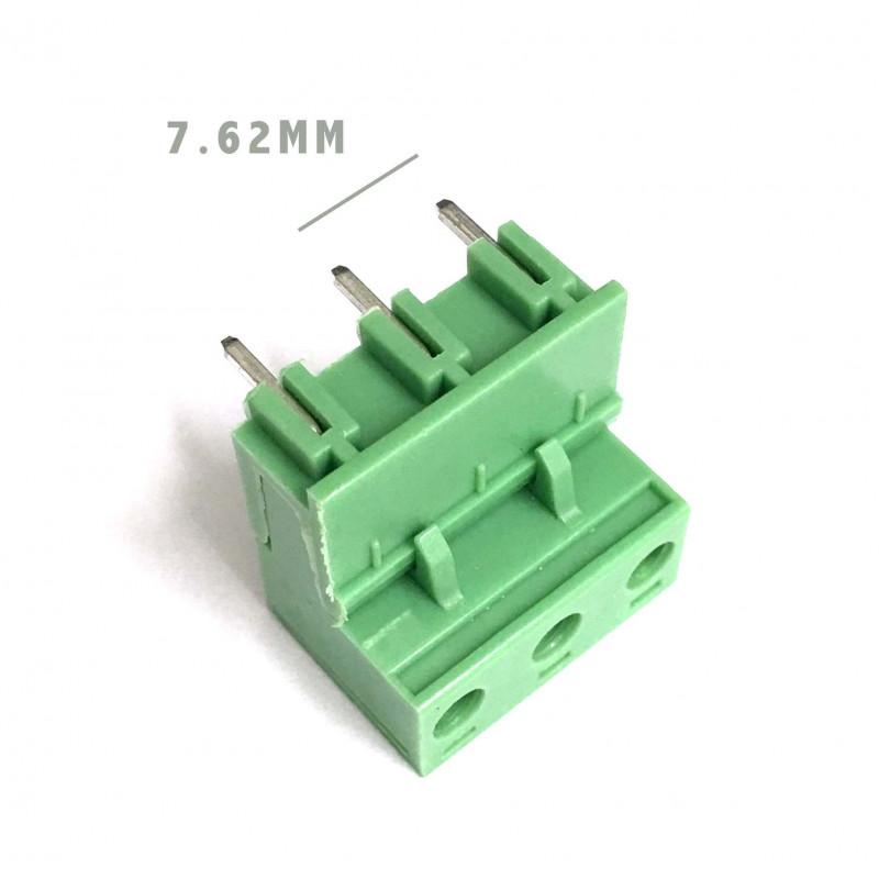 TERMINAL BLOCK 7.62MM 3-POS 90D PCB 2SETS
