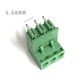 TERMINAL BLOCK 5.08MM 3-POS 90D MOUNT 3 SETS