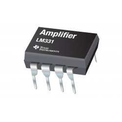 INTEGRATED LM331, VOLTAGE TO FREQUENCY