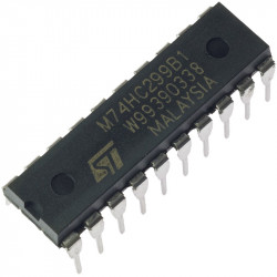 IC 74HC299 8 BIT SHIFT/STORAGE REGISTER