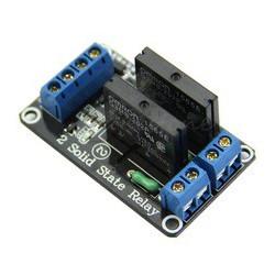 DUAL SSR 5VDC MODULE 5VDC/240VAC 2A