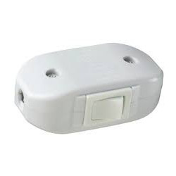 INLINE ROCKER SWITCHES - WHITE