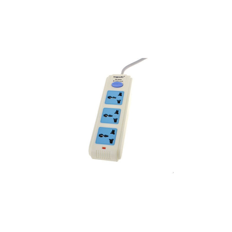 MULTI SOCKET POWER BAR 3 OUTLET (ON/OFF) 250VAC