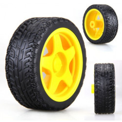 TOY WHEELS D36MM 4PCS/SET