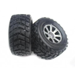 TOY WHEELS D60MM 2PCS/SET