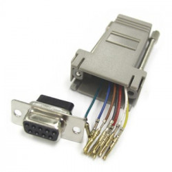 DB9 FEMALE TO RJ12 JK-844